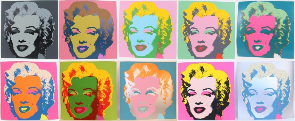 Andy Warhol colpo
