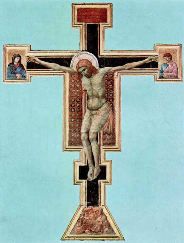 Giotto, Crocifisso di Santa Maria Novella (1290-1300)