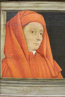 Ritratto di Giotto, anonimo del XVI secolo, Louvre