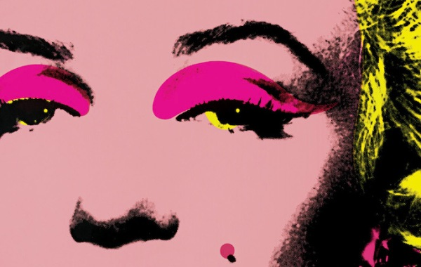 Andy Warhol, Marilyn (dettaglio)