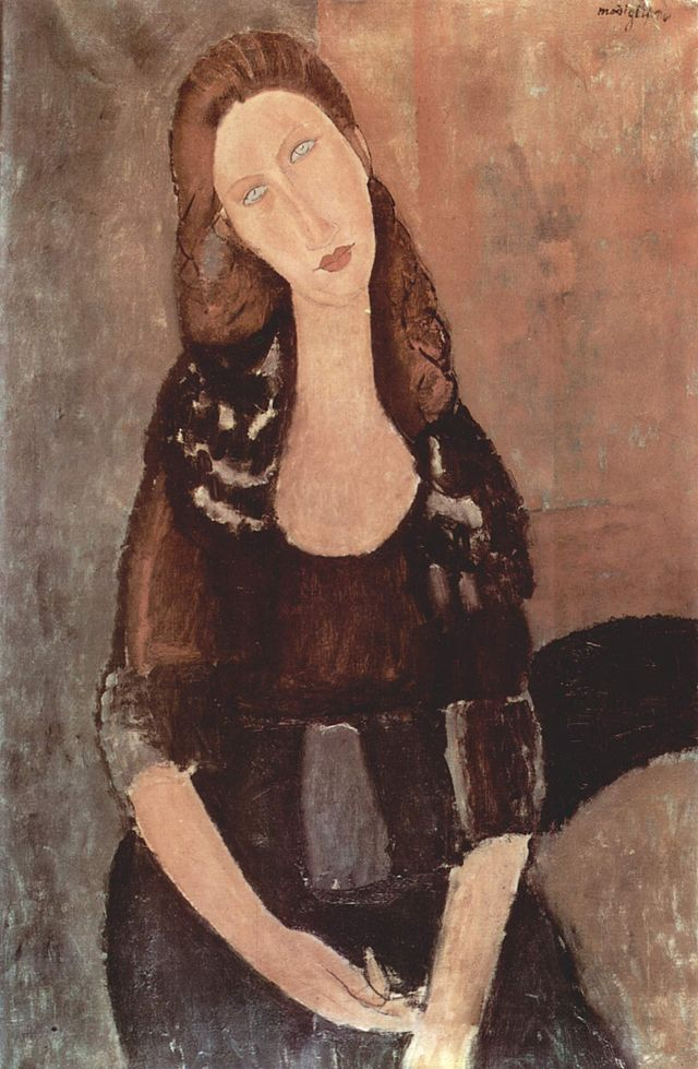 Modigliani, Ritratto di Jean Hebuterne