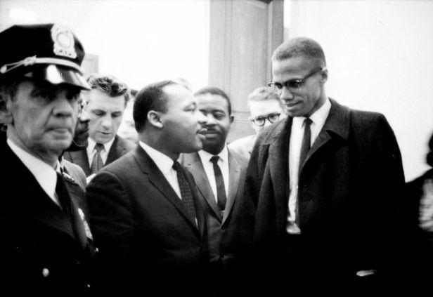 Malcom X, Martin Luther King