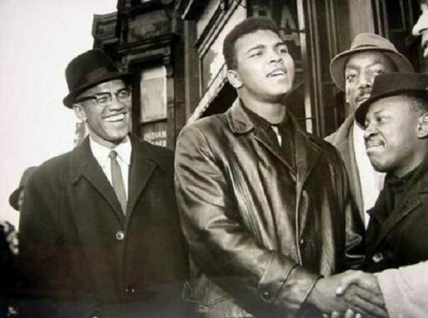 Muhammed Ali e Malcom X