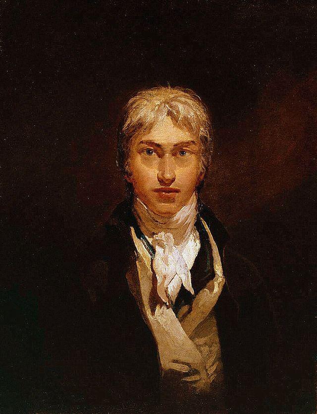 William Turner, autoritratto