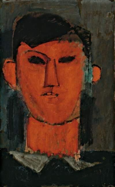 Amedeo Modigliani, Ritratto di Picasso, 1915