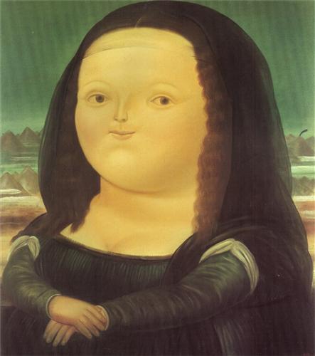 Fernando Botero, Mona Lisa,