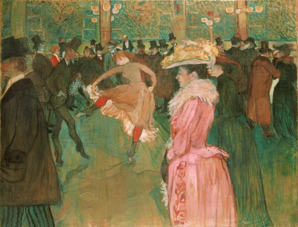 Henri de Toulouse-Lautrec, Ballo al Moulin Roug