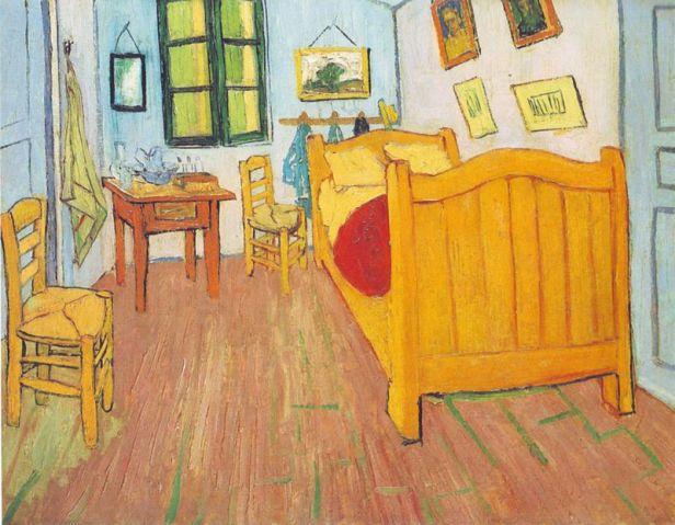 Vincent van Gogh, La camera di Vincent ad Arles