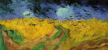Vincent van Gogh, Campo di grano con volo di corvi