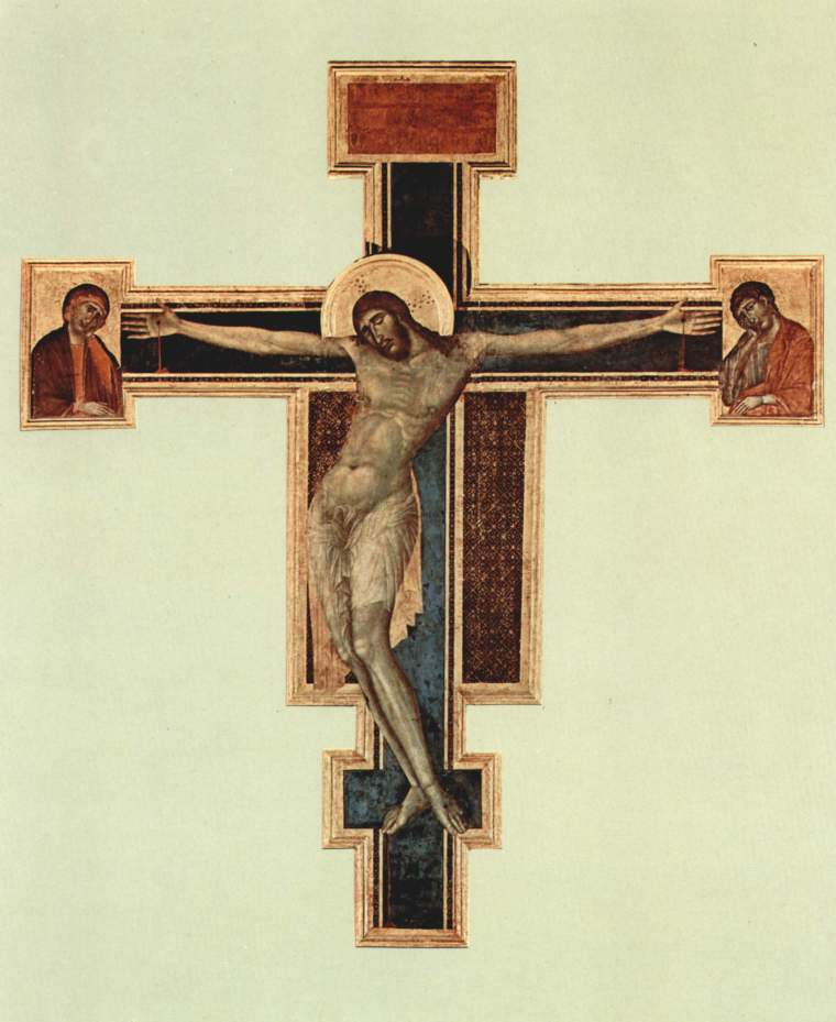 Cimabue, Crocifisso di Santa Croc