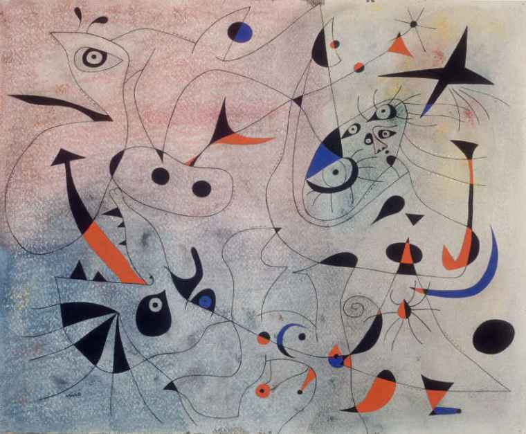 Joan Miró, L'Étoile du matin,