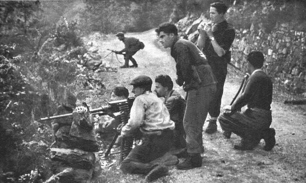 Partigiani in azione