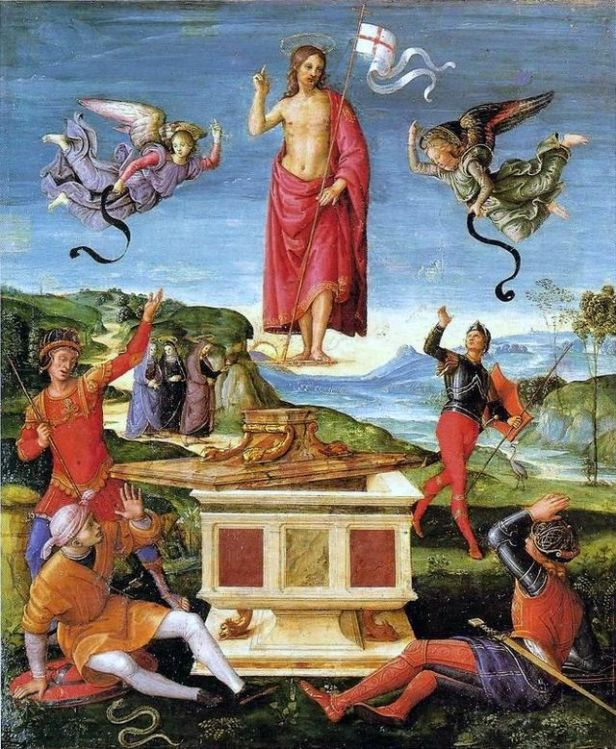 Raffaello Sanzio, Resurrezione