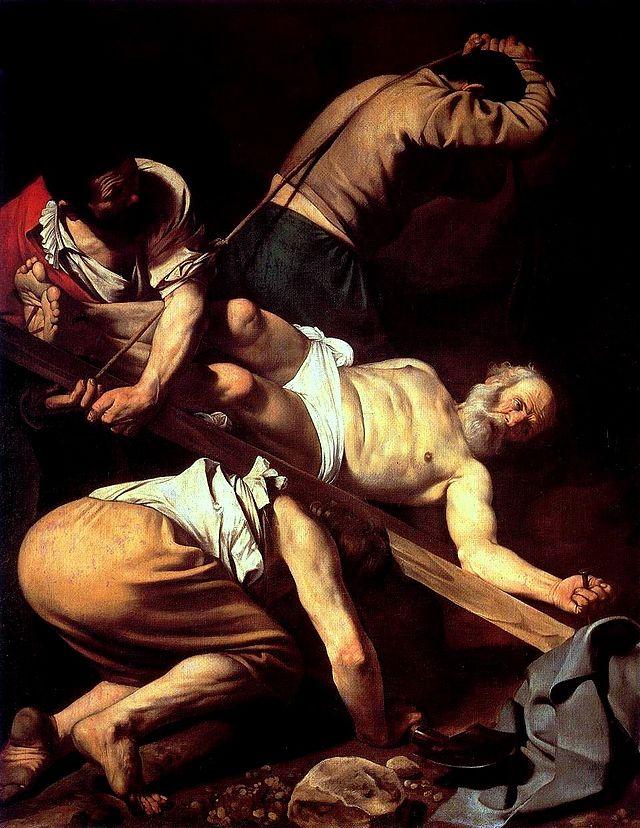 Caravaggio, Crocifissione di san Pietro,