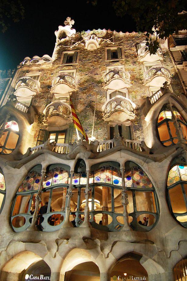 Antoni Gaudì, Casa Batlló, Barcellona