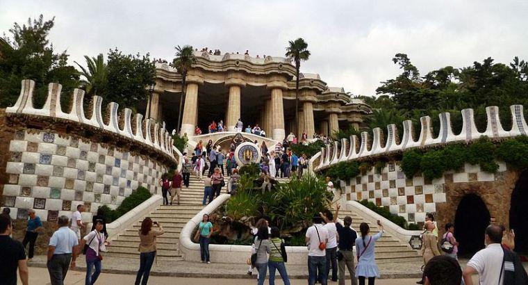Antoni Gaudì, parco Guell