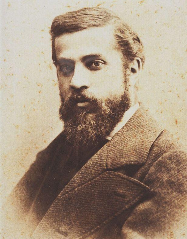 Antoni Gaudí, ritratto