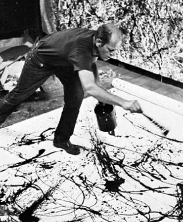 Jackson Pollock, Dripping Painting