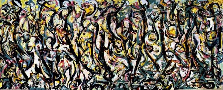 Jackson Pollock, Murale,1943