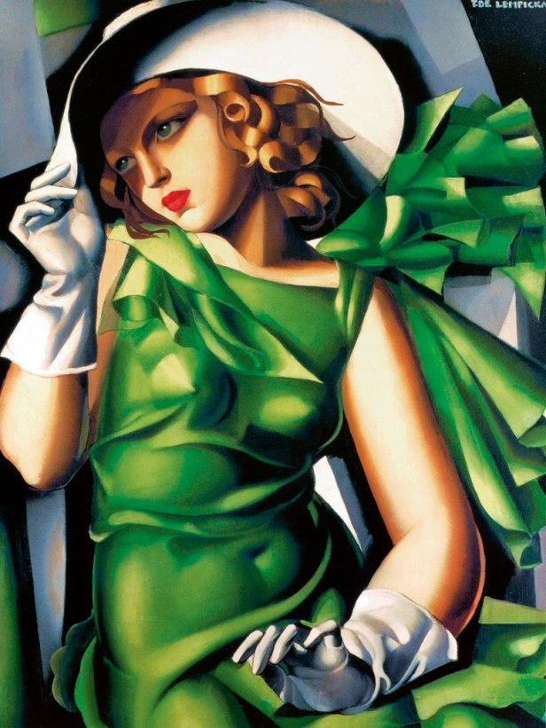 Tamara de Lempicka, Giovane fanciulla con i guanti (Jeune fille aux gants) (1930)
