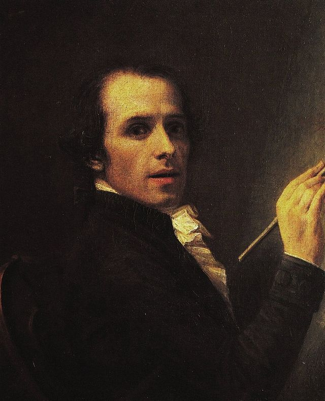 Antonio Canova, autoritratto