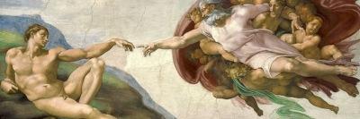 Michelangelo, Creazione di Adamo