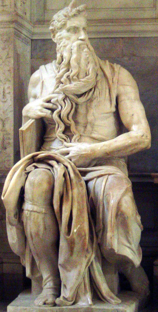 Michelangelo, Mosè, 1513-1515 circa, Basilica di San Pietro in Vincoli