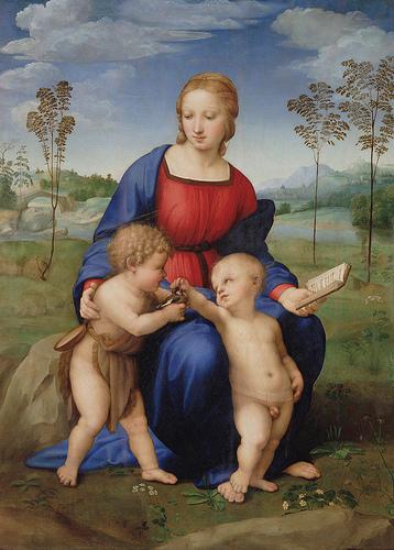 Raffaello Sanzio, Madonna del Cardellino