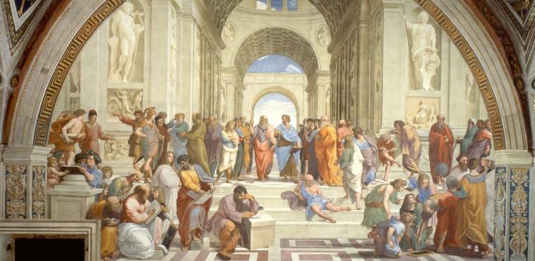 Raffaello Sanzio, Scuola di Atene