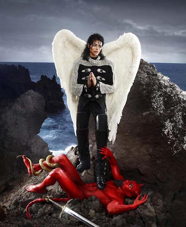 David La Chapelle, Michael Jackson