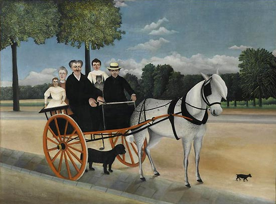 Henri Rousseau, Il calesse di papà Junier