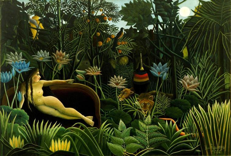 Henri Rousseau. Il sogno
