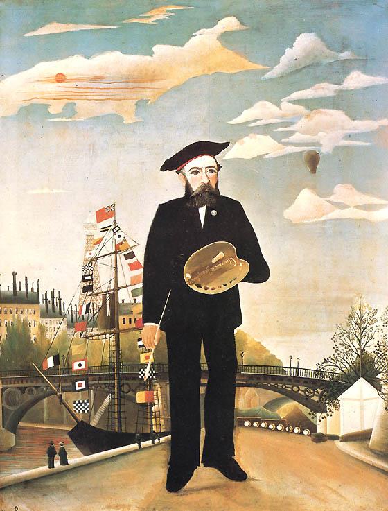 Henri Rousseau, Io, ritratto-paesaggio