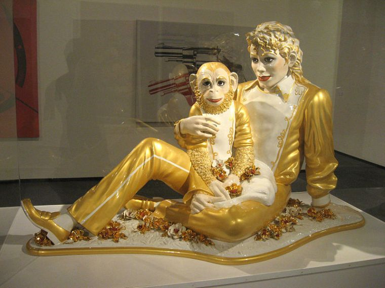 Jeff Koons, Michael Jackson and Bubbles