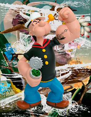 Jeff Koons, Popeye Train (Birds)