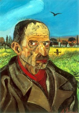 Antonio Ligabue, Autoritratto con spaventapasseri