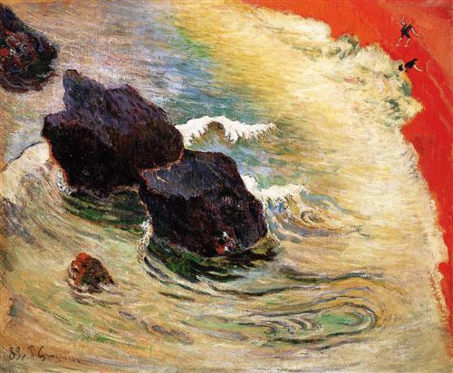 Paul Gauguin, L'onda