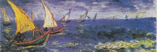 Vincent van Gogh, Seascape at Saintes-Maries