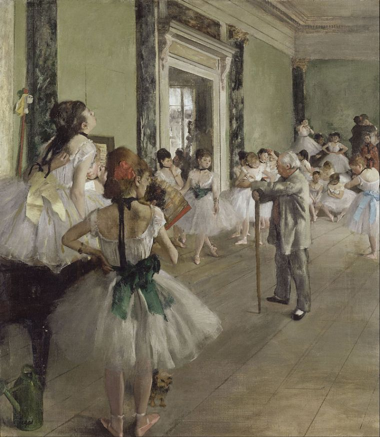 Edgar Degas, The dance class