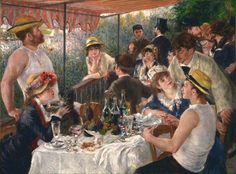 Pierre-Auguste Renoir, Il pranzo dei canottieri