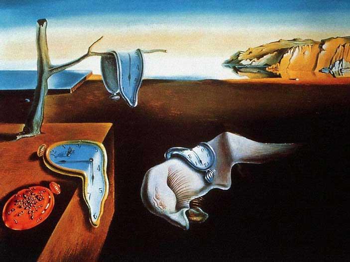 Salvador Dalì; La persistenza della memoria