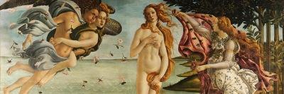 Sandro Botticelli. Nascita di Venere (particolare)