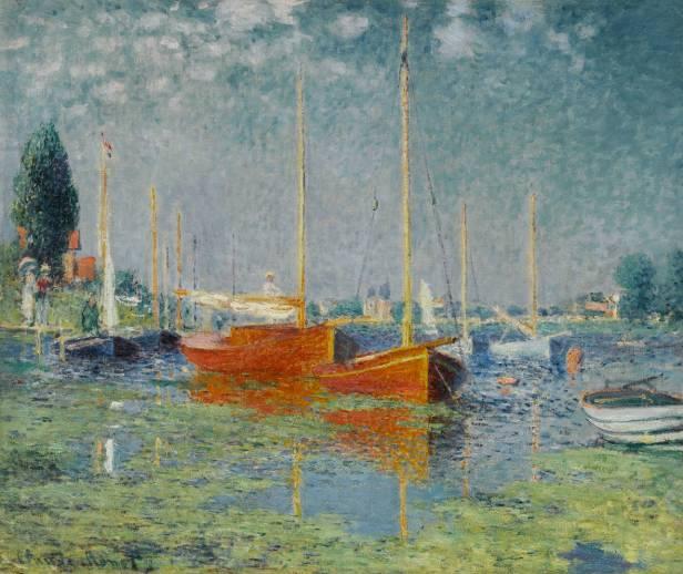 Claude Monet, Argenteuil 1875, olio su tela; 56x65 cm, Musée d'Orsay