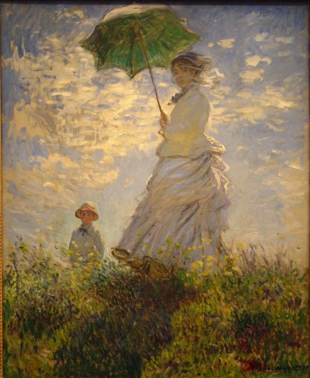 Claude Monet, La passeggiata