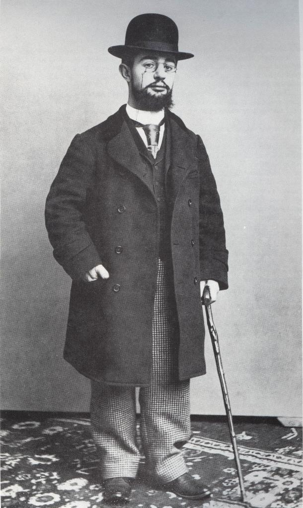 Henri de Toulouse-Lautrec in una foto dell'epoca