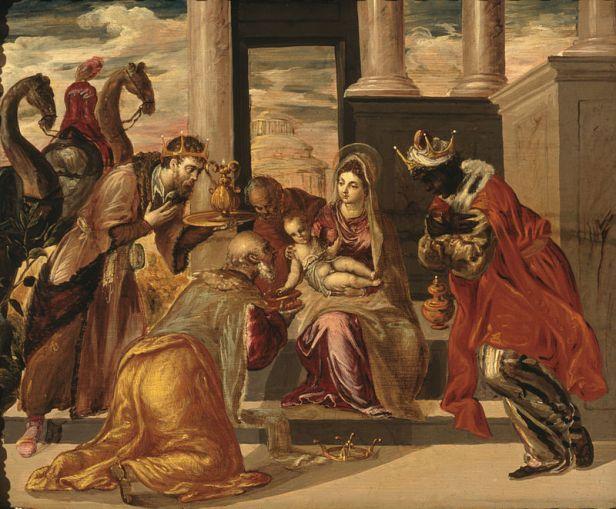 El Greco, Adorazione dei Magi, 1568, Museo Soumaya, Città del Messico