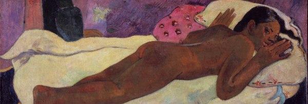 Paul Gauguin, Manau Tupapau - Lo spirito dei morti osserva, 1892, olio su tela, 73x92 cm, 1892, Albright-Knox Art Gallery, Buffalo