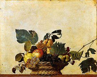 Caravaggio_canestra-di-frutta_vita_opere_riassunto_due-minuti-di-arte