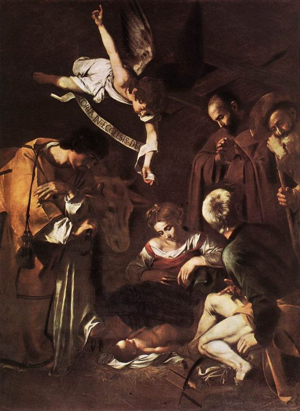 Caravaggio_Natività-con san-francesco-e-san-lorenzo_Natale_oepre_arte_due-minuti-di-arte