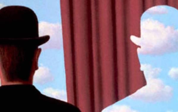 René Magritte, Decalcomania (dettaglio)